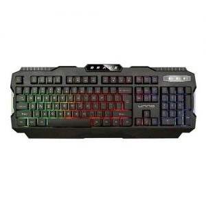 Teclado UNNO USB Gaming BRAVE KB6781BK, WIZARD